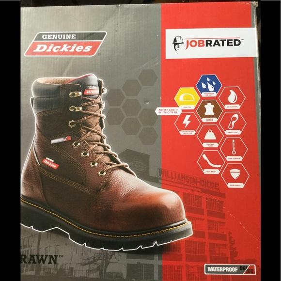 6d9229c29e1 Dickies brawn steel toe work boots