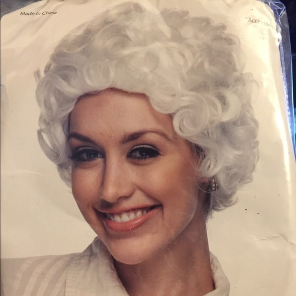 Halloween Wig Old Lady Mom Golden Girls Grandma
