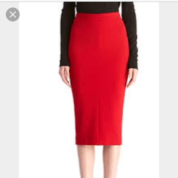 3a585e7198 Diane Von Furstenberg Skirts | Samara Jersey Pencil Skirt | Poshmark