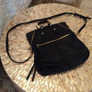 Cynthia Rowly leather crossbody/clutch