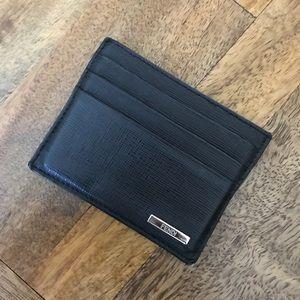 Sale: FENDI Saffiano Leather Card Holder