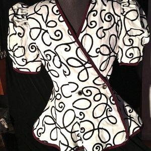 Cutsie pie embroidered dress