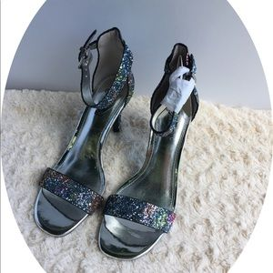 TRASH  Sparkly Shoes Size 6.5