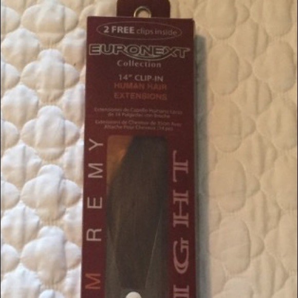 Euronext Other Brand New Dark Brown Hair Extensions Poshmark