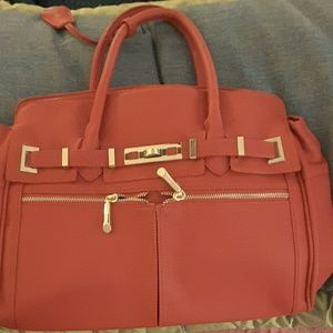 Just Fab Bag, red