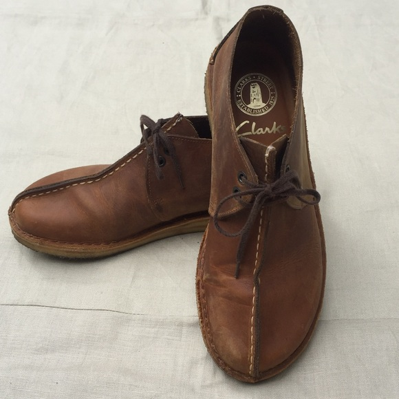 ea89f1cb15d5 Clarks Shoes - CLARKS Desert Trek boots beeswax leather unisex