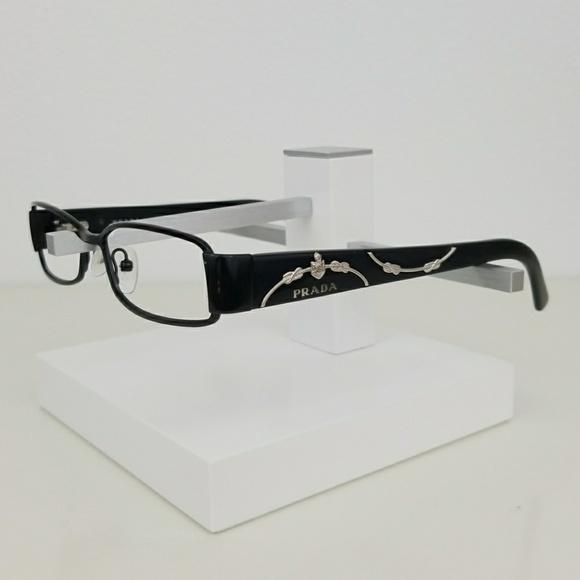 cee7f84d586 PRADA VPR58L Matte Black Eyeglass Frames. M 59d6ae7e2fd0b78a98039372. Other  Accessories ...