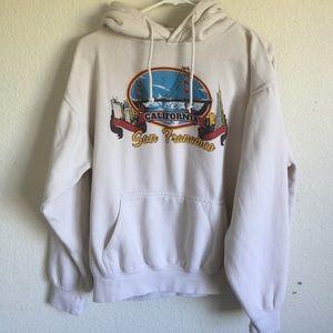 Brandy Melville Christy SF Ca hoodie