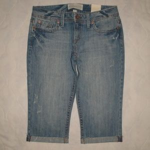 NWT Aeropostale Crop Capri Jeans 5/6
