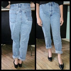 Vintage 80's Anchor Blue high waist mom jeans!