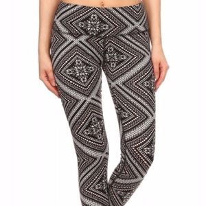 Pants - Super soft handkerchief print leggings