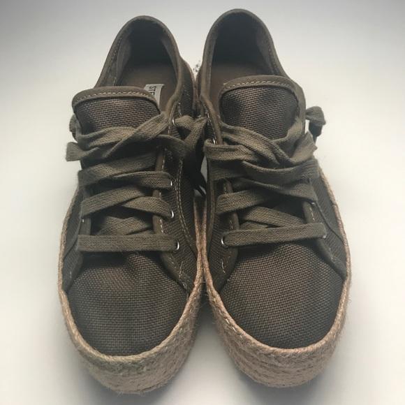 "13f930d8cdb Steve Madden Shoes - Steve Madden ""Hampton"" Espadrille Sneakers 7 B"