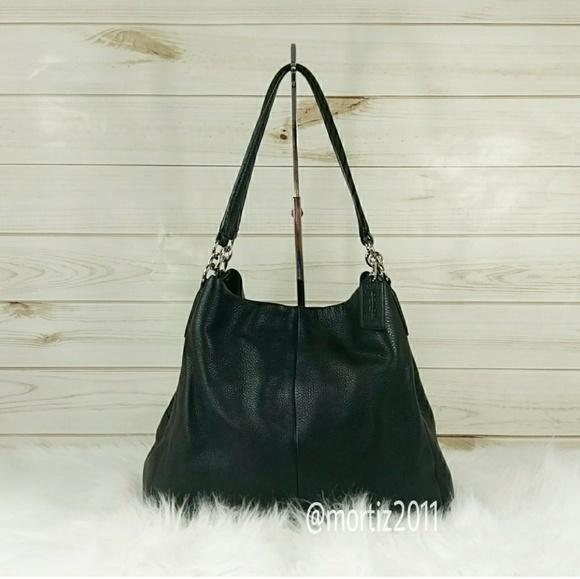 a42fecc543f8 Coach Handbags - Coach Pebble Leather Phoebe Shoulder Bag.
