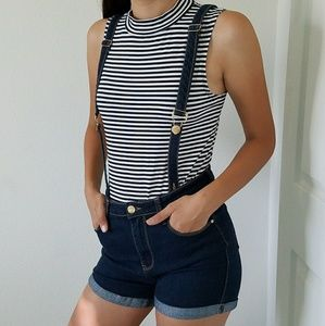 CLOSET CLEAROUT!  High Waisted Overalls