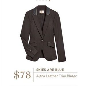 - Stitch Fix - skies are blue Ajana blazer