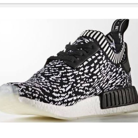 777163d84 Adidas NMD R1 PK Spotted Black 100% authentic!