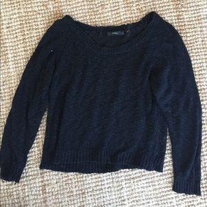 Millau Black Cropped Sweater