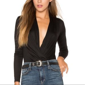 - ella moss red bella bodysuit