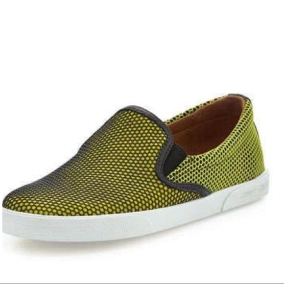 93aab641bc84 Jimmy Choo Shoes | Nwt Demi Acid Yellow Honeycomb | Poshmark