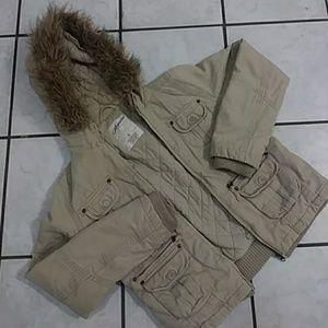 Heavy Hooded Cargo Coat