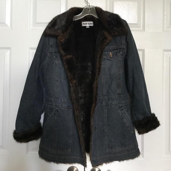 100% high quality best wholesaler new high Dark blue Marvin Richards denim jacket
