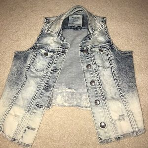 Silver Jeans Co. Jean Vest