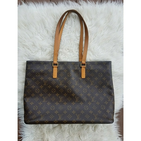 AUTHENTIC LOUIS VUITTON LUCO TOTE BAG 625abe63bdc01