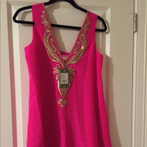 2e045931a686cf Lilly Pulitzer Dresses | Owen Silk Trapeze Dress Nwt Size Xs | Poshmark