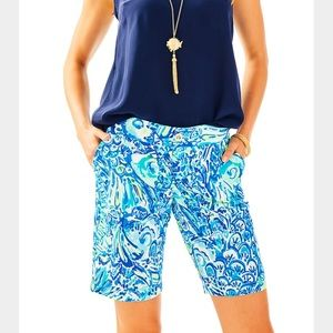 Lilly NWT Chipper Shorts Blue Crush After Party