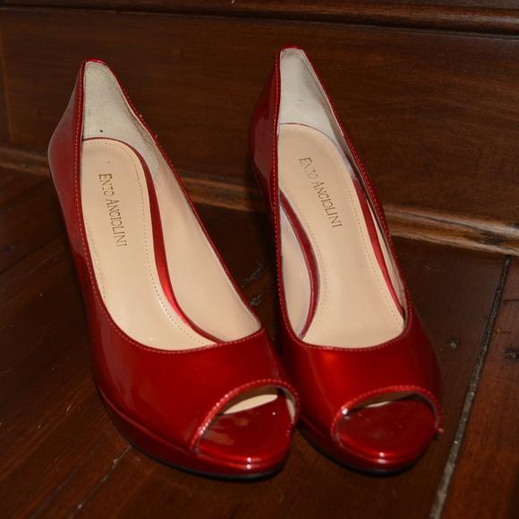 47c0012c2c9 Enzo Angiolini Red Heels