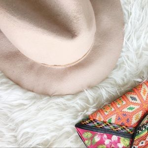 Hinge Wool Felt Panama Hat