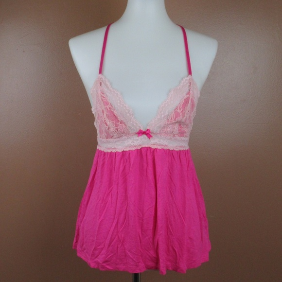 2dcd7f74a XS Betsey Johnson Lingerie Chemise Dress Nightgown