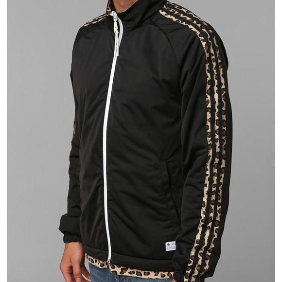 adidas leopard jacket