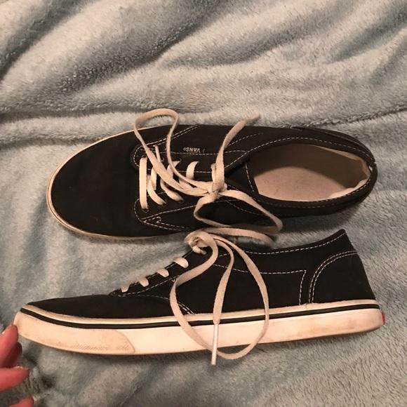 Vans Shoes - Classic Black Vans Sneakers