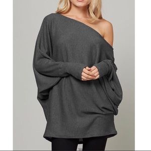 Tops - 🎉HOST PICK🎉Oversized Loose Fit Textured Tunic