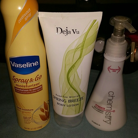 vaseline Other - LOT HAIR AND BODY MOISTURIZERS