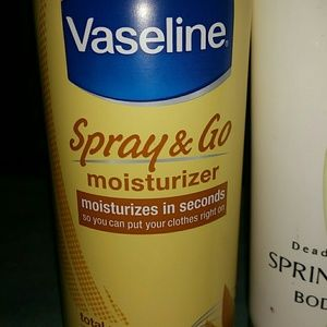 vaseline Makeup - LOT HAIR AND BODY MOISTURIZERS