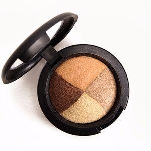 NWT MAC Mineralize Eyeshadow Quad Golden Hours