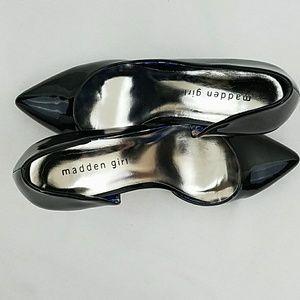 Madden Girl Shoes - Madden Girl Kopykat Dress Pump in Black size 8.5