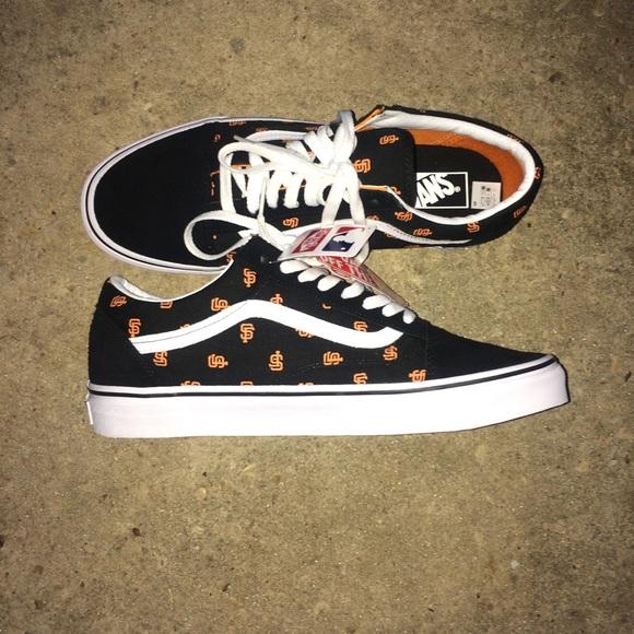 Mlb X Vans Sf Giants Old Skool Shoes