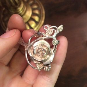 Rose Beauty 925 Sterling Silver Ring