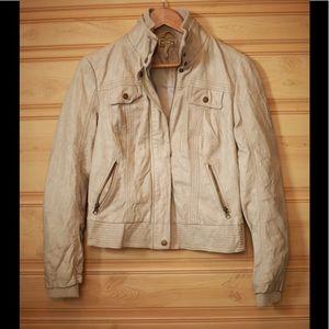Kirra Faux Leather Jacket