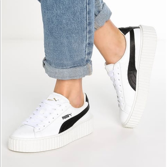 1d73e757051 Puma by Rihanna Creeper White Leather. M 59d6ffe2291a350b47014fb8