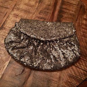 Cross body glam purse