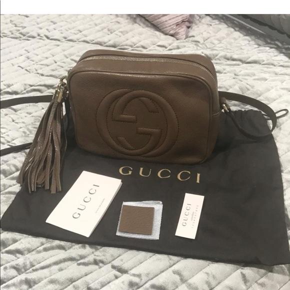 89a6df5ab Gucci Bags | Soho Disco Bag Maple Brown | Poshmark