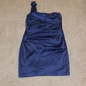 Dresses & Skirts - Navy blue cocktail dress
