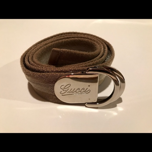 c3622608d67 Gucci Accessories - Authentic Web belt with Gucci buckle