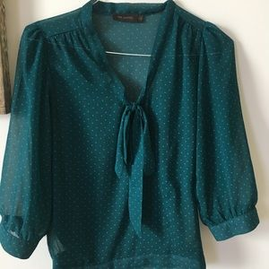Tops - Teal blouse
