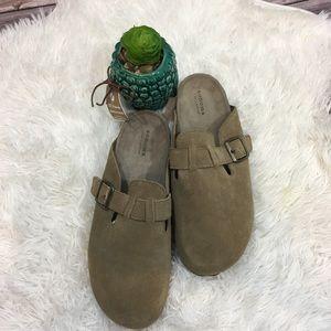 ❤Sonoma taupe upper suede sandal 11