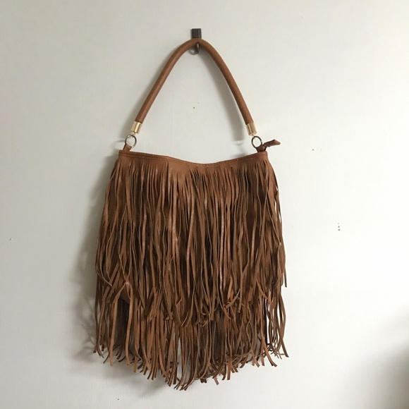 St bags vegan bohemian brown fringe bag poshmark jpg 580x580 Brown fringe  bag 8f5eb5c374f7e